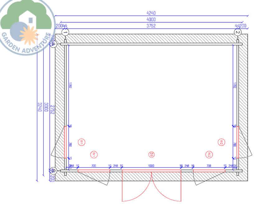 Clockhouse 4x3