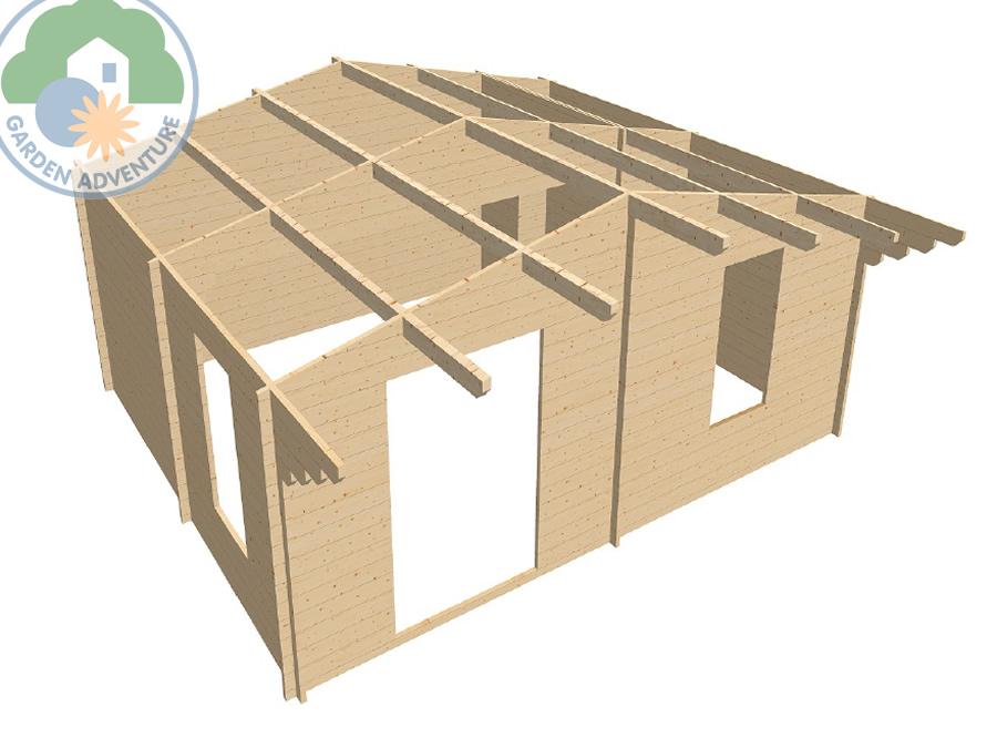 Chalet 6x5 Log Cabin