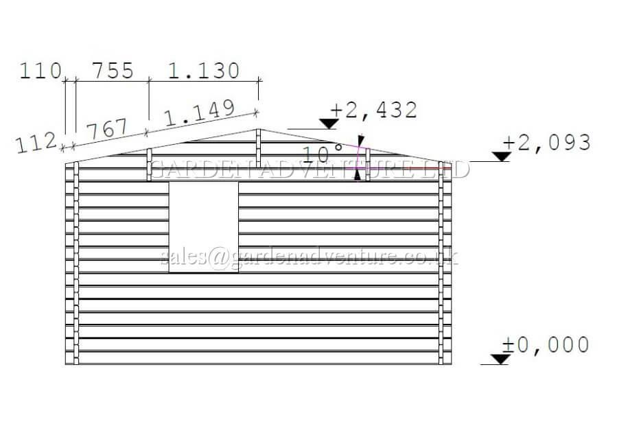 Meribel 6x4 Drawings (Large)