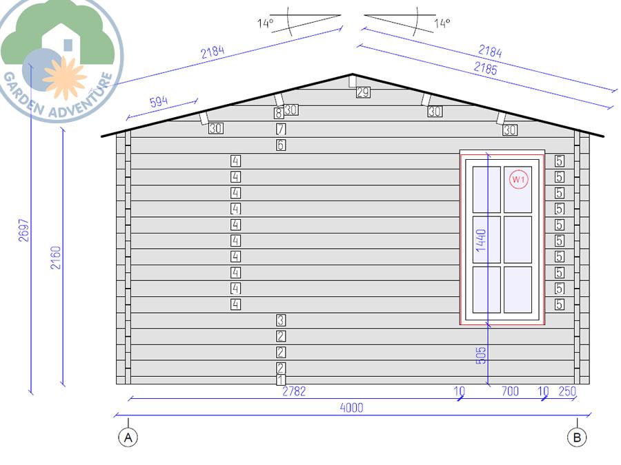 Clockhouse 5x4