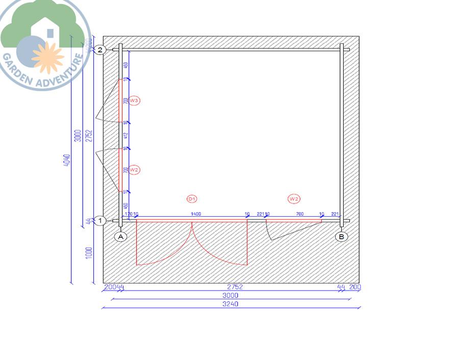 Corvara 3x3 Plan View (Large~)