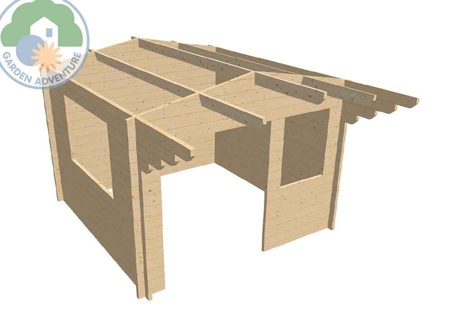 Liverpool 3x3 Log Cabin