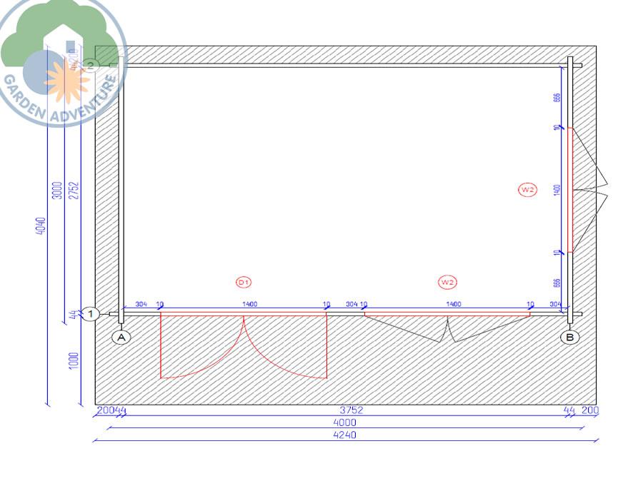 Arabba 4x3 Plan View (Large~)