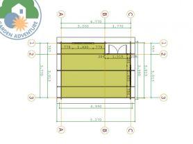 Canazei 5x4 Plan View