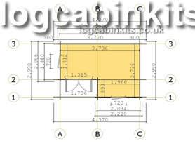 Canazei 4x3 Plan View