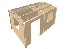 Rumak 6x4 3D