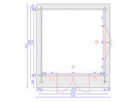 Cervinia Plus 3x3 Plan View