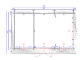 Camborne 5x3 Plan View