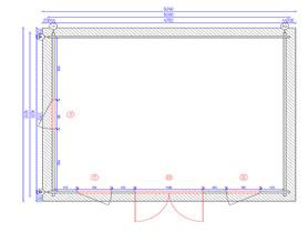 Pila 5x4 Plan View