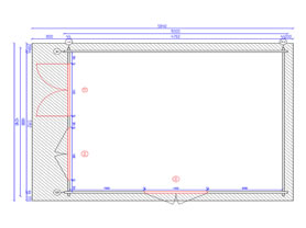 Arabba 4x5 Plan View