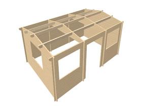 Selva 6x4 3D