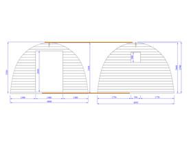 Camping Pod 4x3 3D