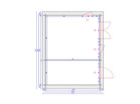 Meribel 6x4 Plan View