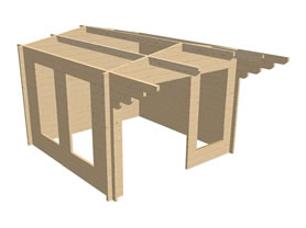 Corvara 3x3 3D