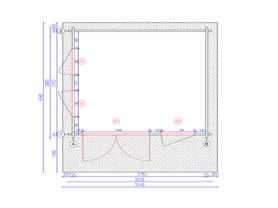 Corvara 3x3 Plan View