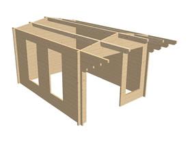 Corvara 3x4 3D