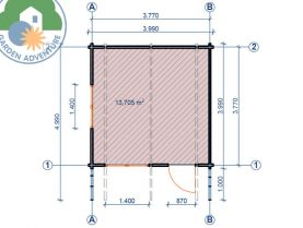 Lusia 4x4 Plan View