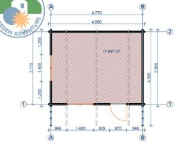 Lusia 5x4 Plan View