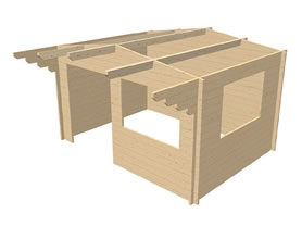 Arabba 4x3 3D