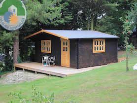 Belvedere Plus Log Cabin
