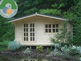 Trentino Plus 6x6 Log Cabin