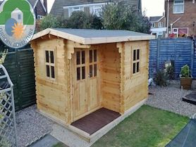 Canazei Plus 4x3 Log Cabin