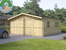 Wooden 6x6 Garage