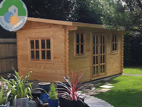 Cambourne Log Cabin