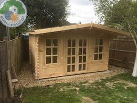 Grande 4x3 Log Cabin