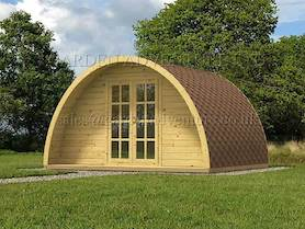 Camping and Glamping Pods
