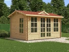 Clockhouse 4x3 Log Cabin