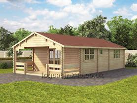 Brooklyn Plus Log Cabin