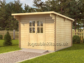 Claviere Log Cabin