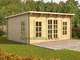 Torgnon 5x4 Log Cabin
