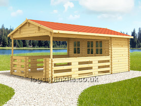 Nevea Log Cabin