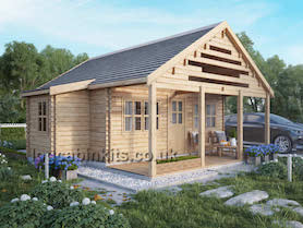 Morillon Log Cabin