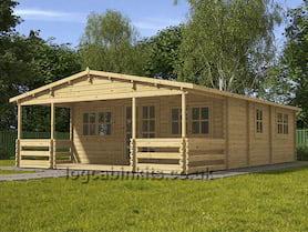 Clusaz Log Cabin