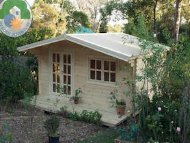 Trentino Plus 4x4 Log Cabin