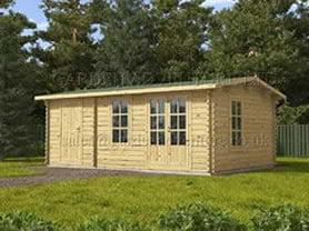 Meribel 6x3 Log Cabin