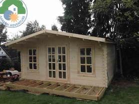 Grande 4x5 Log Cabin