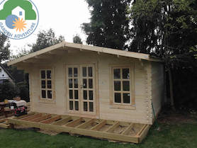 Grande 5x5 Log Cabin