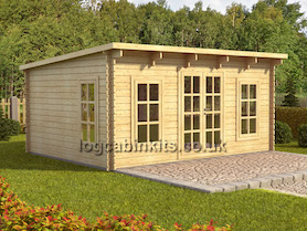 Torgnon 6x3 Log Cabin