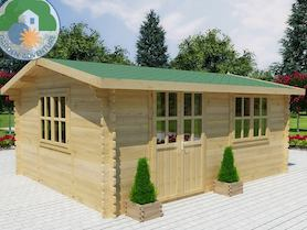 Aosta Plus 5x4 Log Cabin