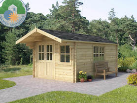 Arabba 3x3 Log Cabin
