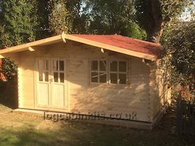 Arabba 5x5 Log Cabin