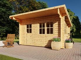 Ashdown 4x3 Log Cabin