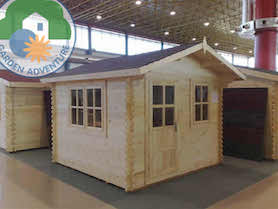 Belvedere Plus 3x2 Log Cabin