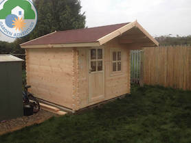 Belvedere Plus 3x3 Log Cabin