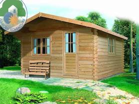 Belvedere Plus 5x6 Log Cabin