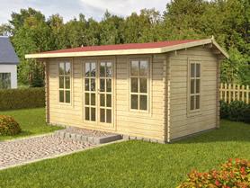 Bormio 5x3 Log Cabin